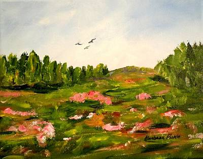 Painting - Enchanted Valley by Barbara Pirkle
