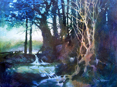 Painting - Enchanted Wood by Dan Nelson