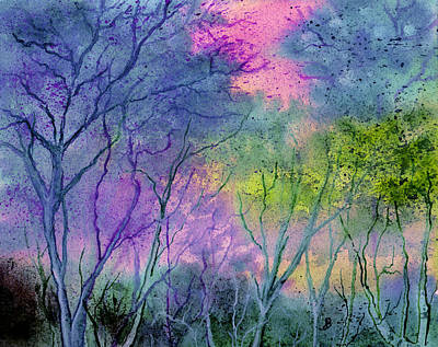 Painting - Enchanted Woodland  by Brenda Owen