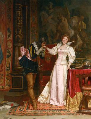 Frederick Digital Art - Enchantee by Frederick Soulacroix