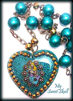 Enchanting Abyss Necklace Original by Razz Ace