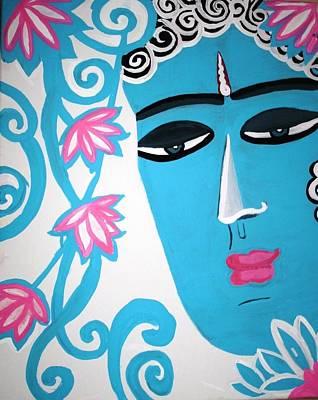 Siddharta Painting - Enchanting Buddha  by Madhuri Krishna