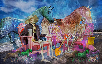 Fantasy Mixed Media - Enchanting Humor by Betsy Knapp