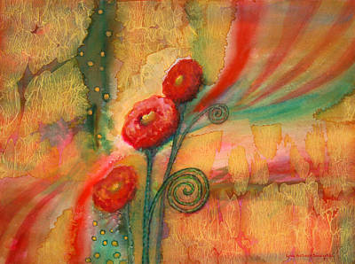 Painting - Enchantment by Lynda Hoffman-Snodgrass