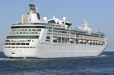 Photograph - Enchantment Of The Seas Heading To Sea by Bradford Martin