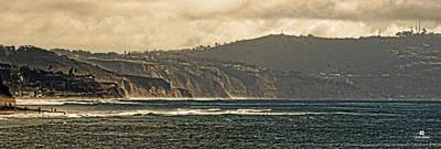 San Diego Photograph - Encinitas Beach To La Jolla by Russ Harris