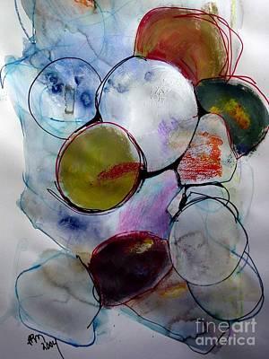 Painting - Encinitas Rocks by Paul Miller