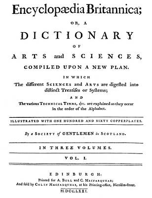 Encyclopedia Britannica Art Print
