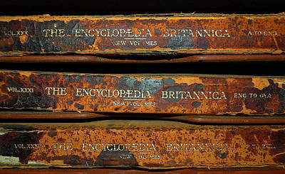 Photograph - Encyclopedia Britannica by Tamyra Crossley