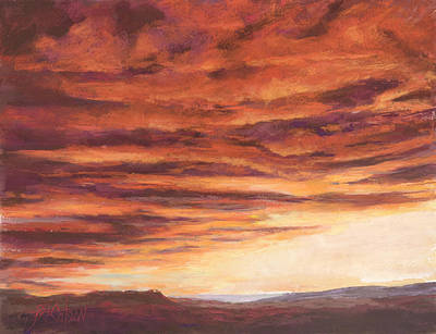 Pastel - End Of A Day by Billie Colson