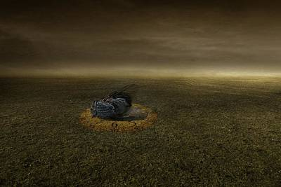 Desolate Digital Art - End Of A Goal by Johan Lilja