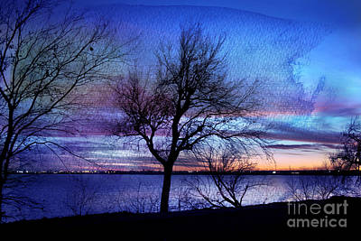 End Of Day Art Print by Betty LaRue