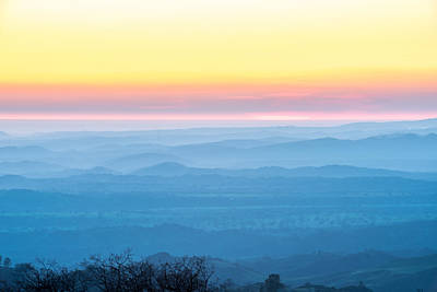 Photograph - End Of Day Figueroa Mountain by Paul Johnson