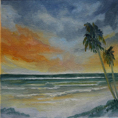 Painting - End Of Day by Rosie Brown