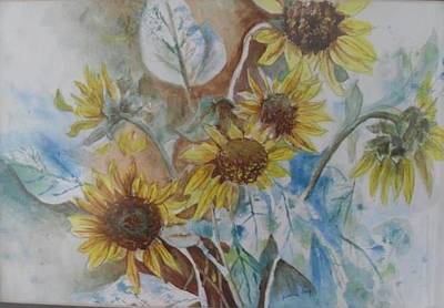 Painting - End Of Summer by Paula Day