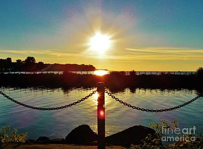 Photograph - End Of Summer Sun by Judy Via-Wolff