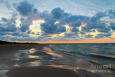 Photograph - End Of Summer Sunset by Nina Silver