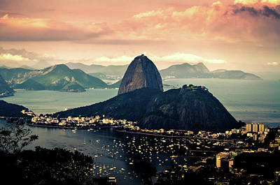 Photograph - End Of The Afternoon Mirante Dona Marta by Thiago Veras