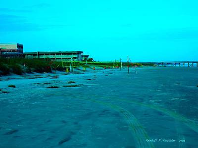 Photograph - End Of The Day At Isle Of Palms by Kendall Kessler