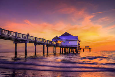Gulf Coast Wall Art - Photograph - End Of The Day by Marvin Spates