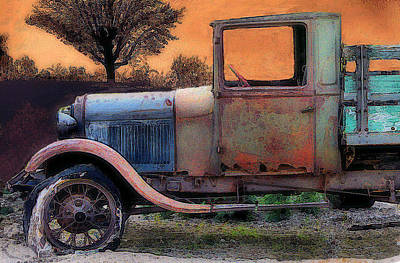 End Of The Day Art Print