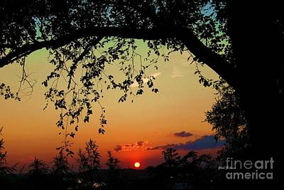 End Of The Day Art Print by Yumi Johnson