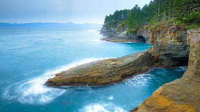 Neah Bay Photograph - End Of The Earth by Anthony J Wright