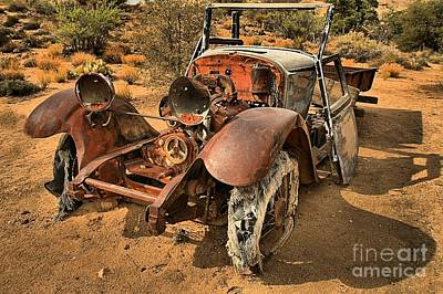 Mining Truck Photograph - End Of The Line by Adam Jewell