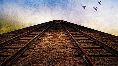 Photograph - End Of The Line by Ericamaxine Price