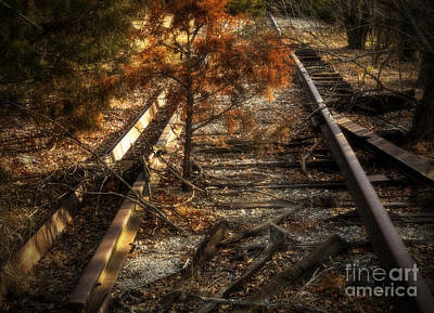 Photograph - End Of The Line by Fred Lassmann