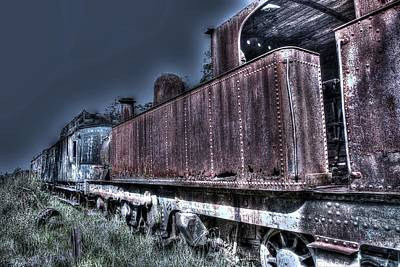 Photograph - End Of The Line. by Ian  Ramsay