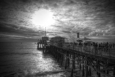 End Of The Pier Art Print