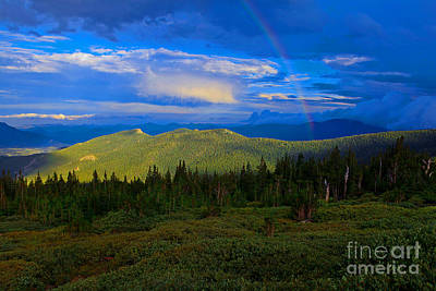 Photograph - End Of The Rainbow by Barbara Schultheis