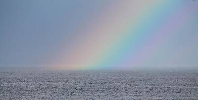 Photograph - End Of The Rainbow by Michael Saunders