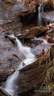 Photograph - End Of The Road Falls by Paul Rebmann