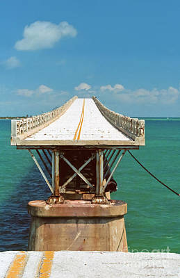 Photograph - End Of The Road Florida Keys 1985 by Michelle Wiarda-Constantine