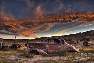 Photograph - End Of The Road Sunset by Crystal Nederman