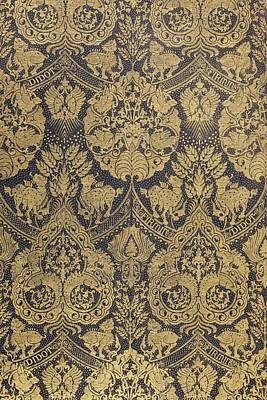 End Paper From A Book Published By Firmin Didot Of Paris Art Print by French School