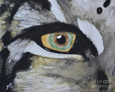 Painting - Endangered Eye I by Suzette Kallen