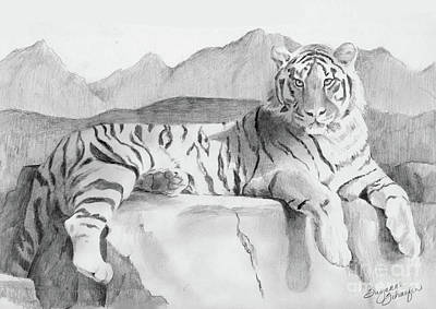 Endangered Species - Tiger Art Print