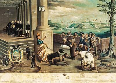 Oil Knife Photograph - Endara, Carlos Manuel 1827 - 1924. The by Everett