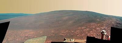 3rd Photograph - Endeavour Crater by Nasa/jpl-caltech/cornell/asu