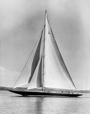 Sail Racing Photograph - Endeavour II At Newport by Underwood Archives