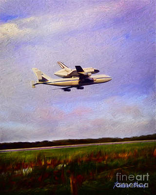 Endeavour The Final Flight Art Print