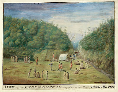 The Country Photograph - Endeavour's Watering Place by British Library