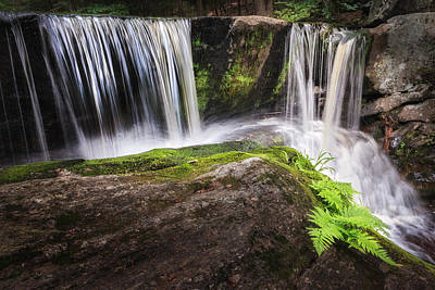 Calm Waters Photograph - Enders Falls 3 by Bill Wakeley
