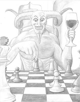 Endgame Art Print by Jeffrey Oleniacz