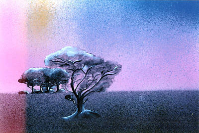 Ending Painting - Ending Night by Daniele Zambardi