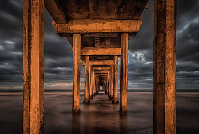 Piers Wall Art - Photograph - Endless by Andreas Agazzi