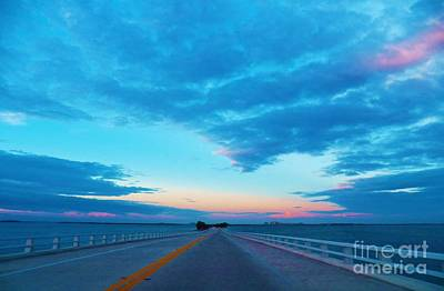 Photograph - Endless Bridge by Judy Via-Wolff